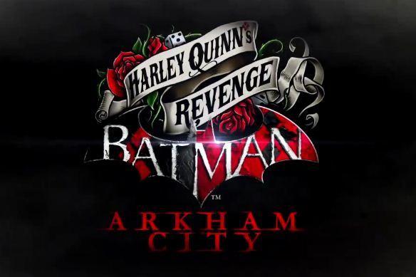 Batman: Arkham City Harley Quinn's Revenge logo