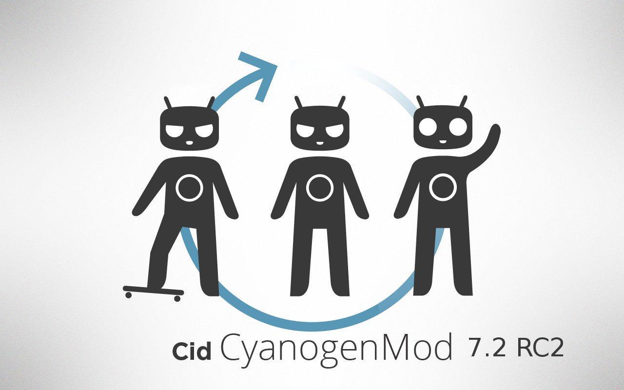 Cyanogenmod 7.2 rc2