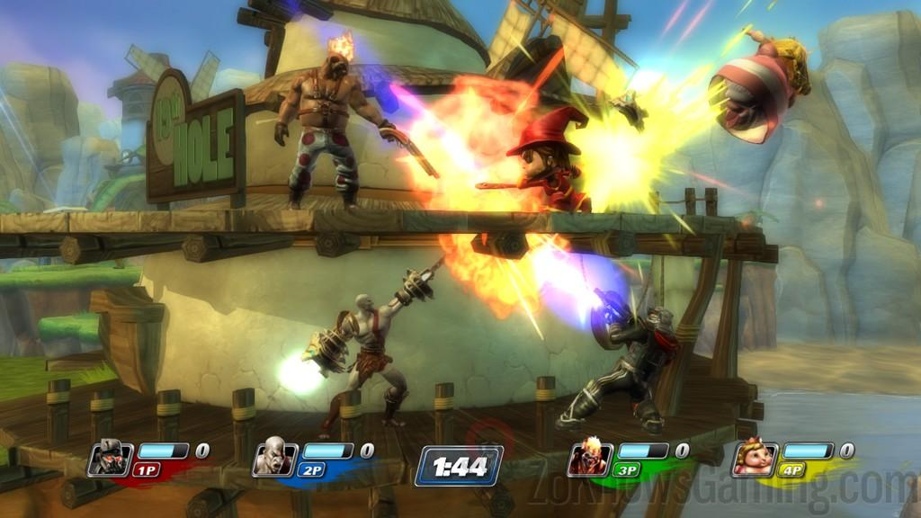 PlayStation All-Stars Battle Royale Gameplay
