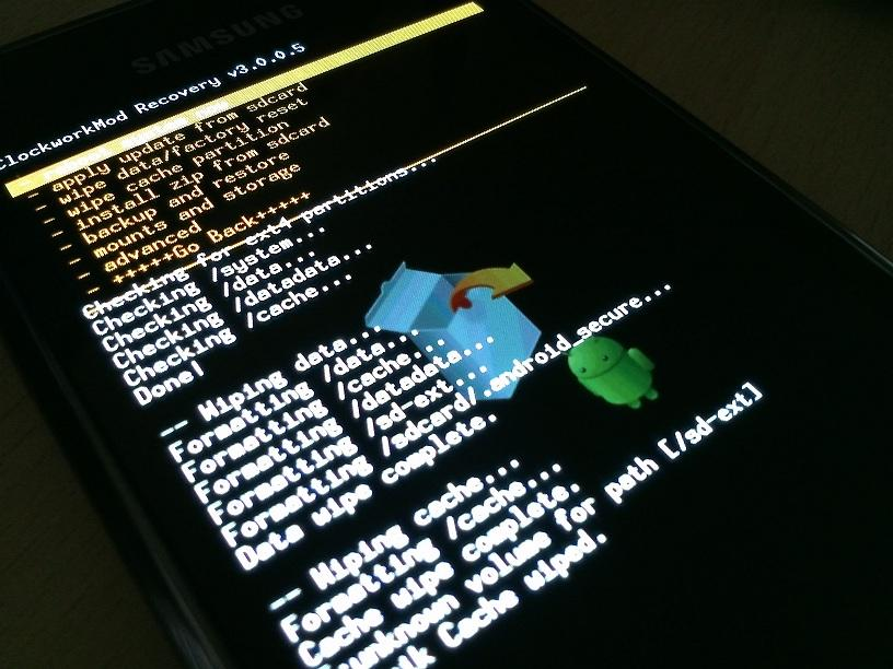 Samsung Galaxy S i9000 Recovery