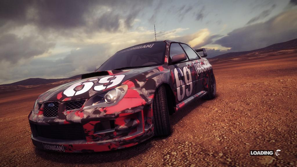DirT Showdown: Subaru Impreza