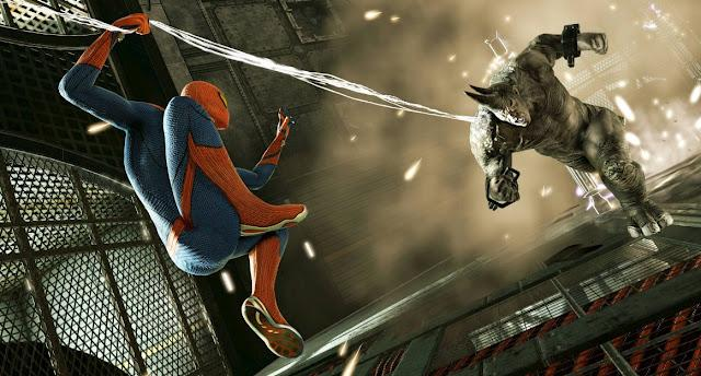 Spider-Man vs Rhino