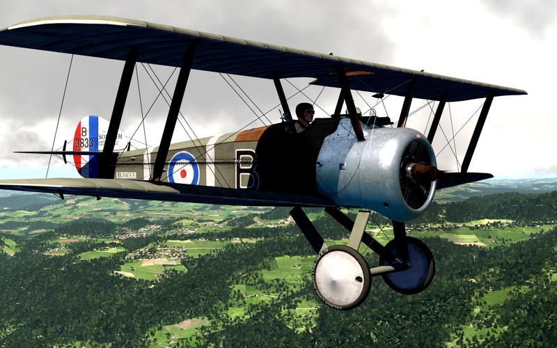 Aereo d'epoca Aerofly FS