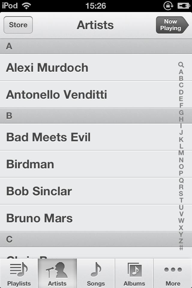 Musica part 2 iOS 6