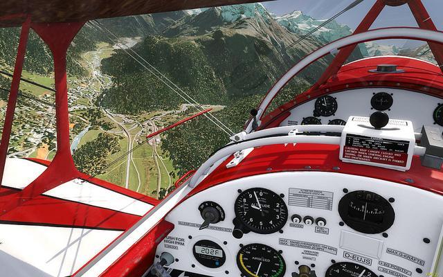 Interno aereo Aerofly FS