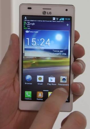 LG Optimus 4X presentazione