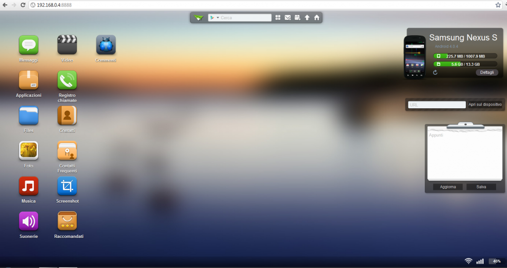 Screenshot desktop Airdroid
