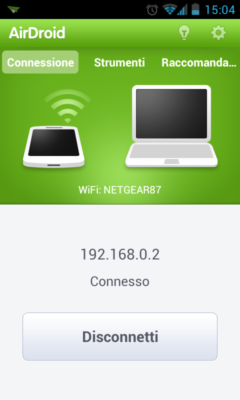 Screenshot Nexus S airdroid