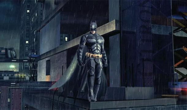 The Dark Knight Rises: The mobile Game Batman sul cornicione