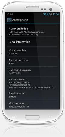 galaxys3 AOKP unofficial 2