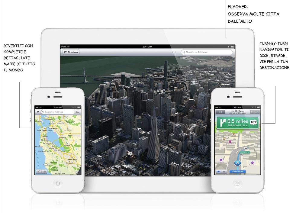Mappe Apple iOS 6