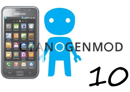 CyanogenMod 10- Galaxy -S-i9000