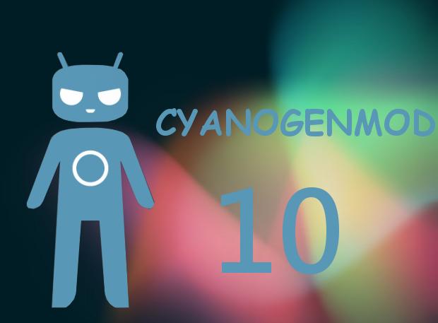 CyanogenMod 10- Jelly Bean
