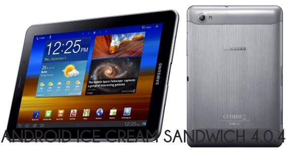 Samsung Galaxy Tab 7.7: inizia il Roll-out dalla Germania per Ice Cream Sandwich