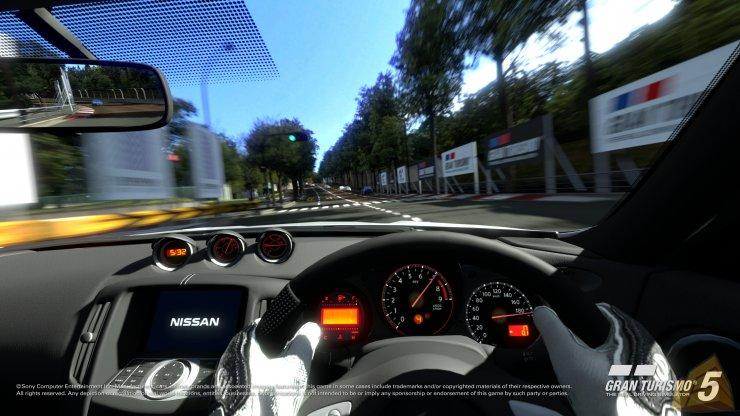 Gran Turismo 5 visuale interna