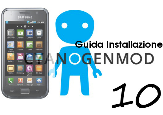 CyanogenMod 10 Galaxy S1