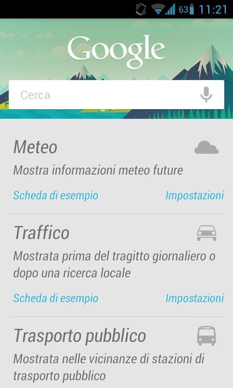 Google Now Lg Optimus Dual CM10