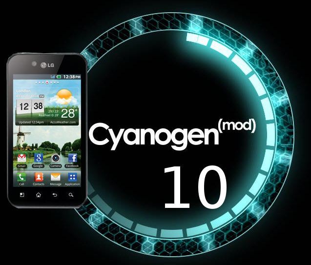 LG Optimus Black CyanogenMod 10