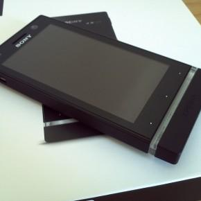Xperia U screen 3