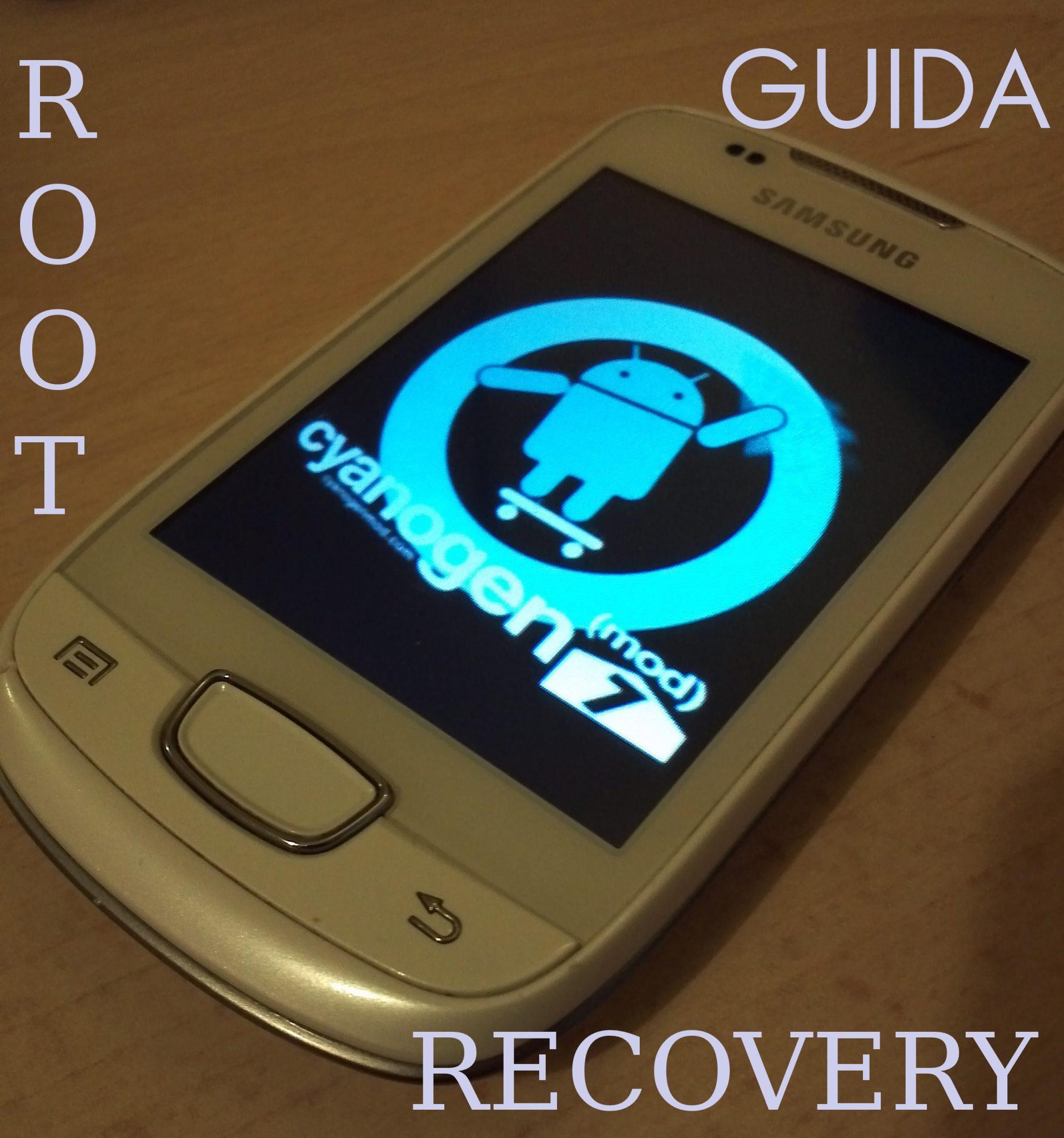 Galaxy Next S5570 Root e Recovery