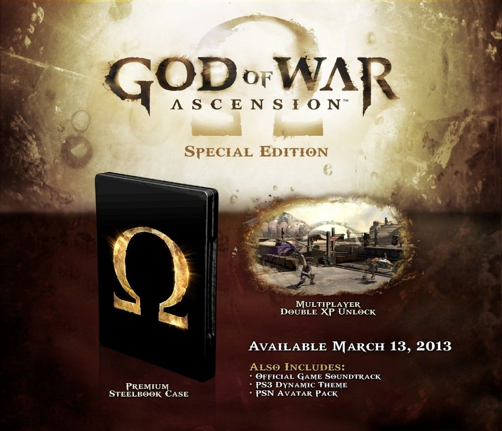 God Of War : Ascension Special Edition