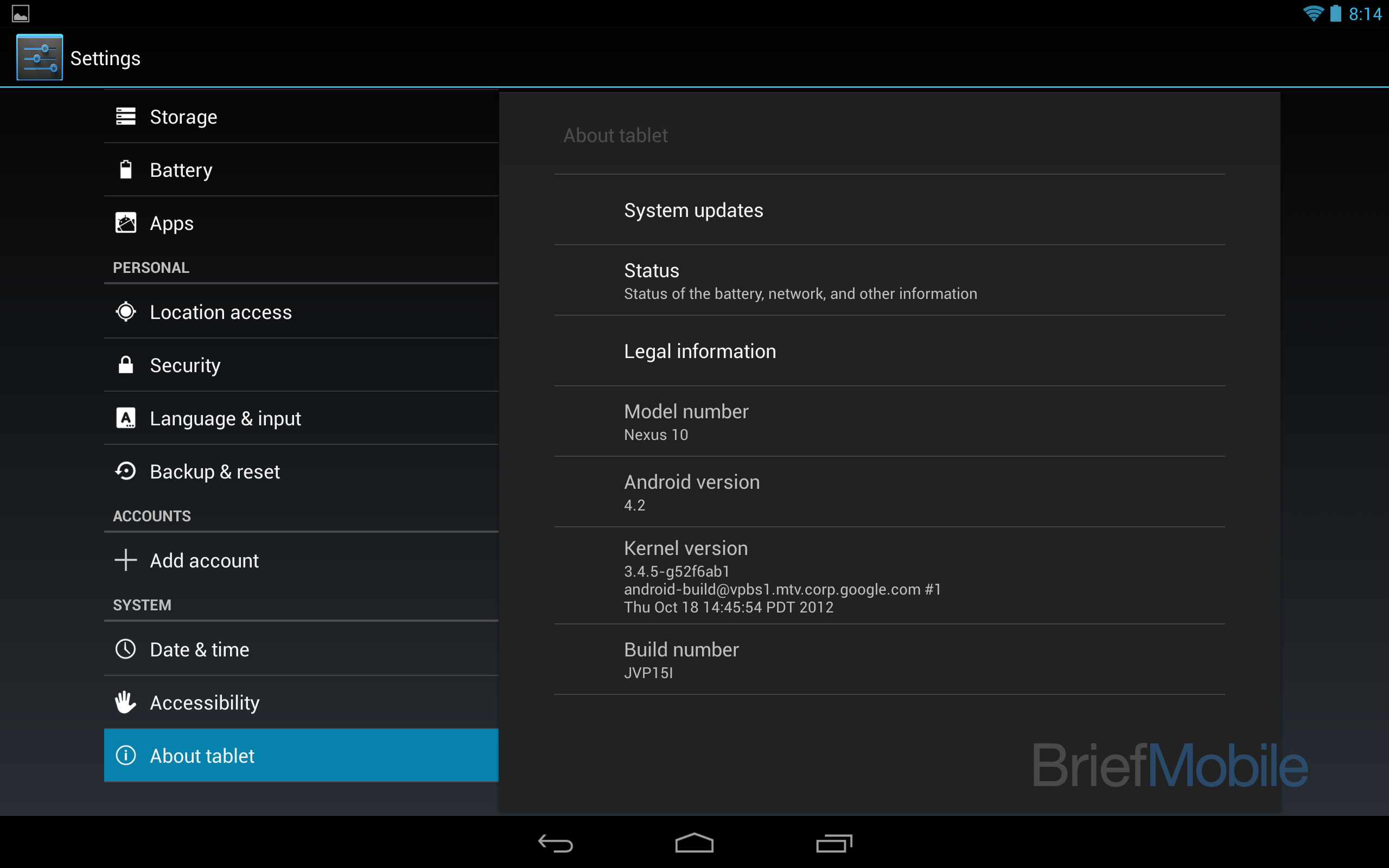 Kernel Android 4.2