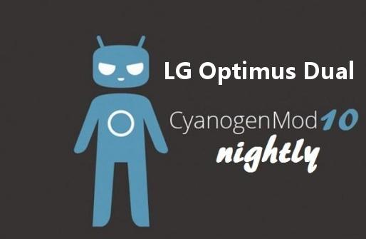 LG Optimus Dual CM10
