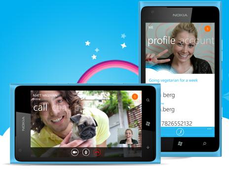 Windwos Phone 8 Skype