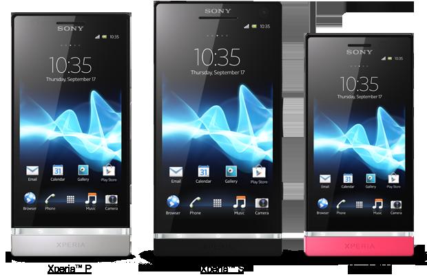 Sony gamma Xperia