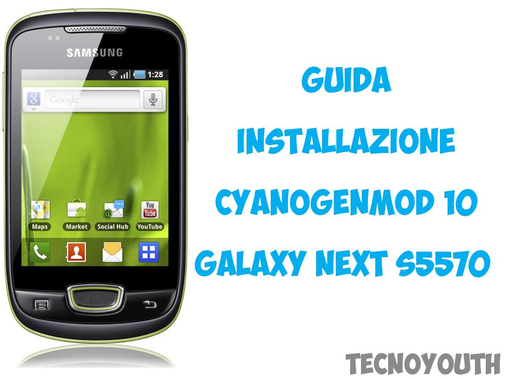 Galaxy Next CyanogenMod 10