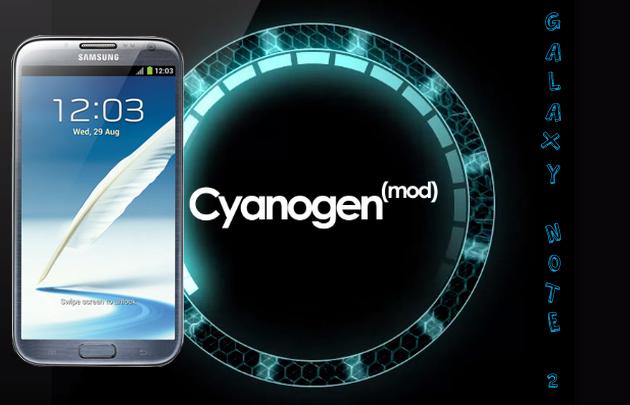 Galaxy-Note-2-Cyanogenmod 10