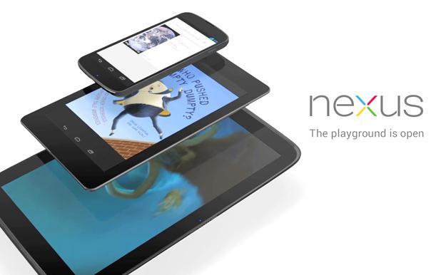 Nexus 4 e Nexus 10