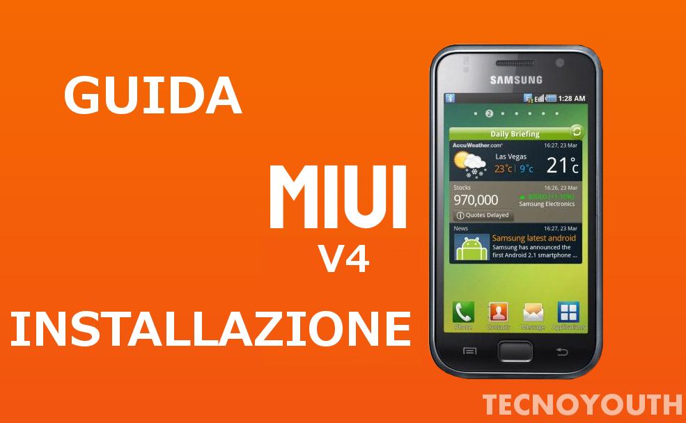 MIUI V4 4.1.2 Galaxy SI9000
