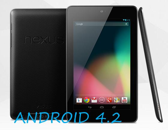 Nexus 7-Android 4.2