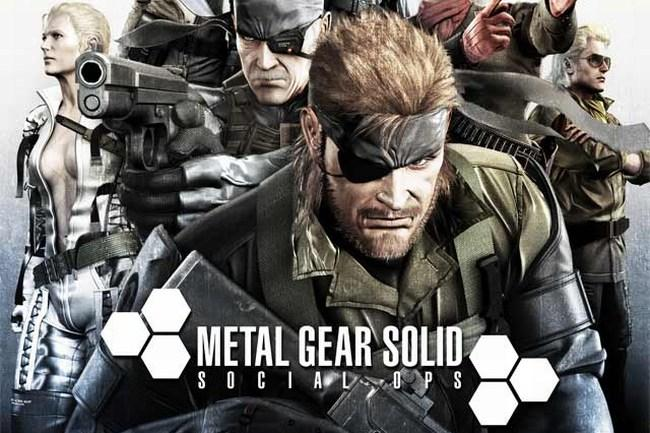 Metal Gear Social Ops cover