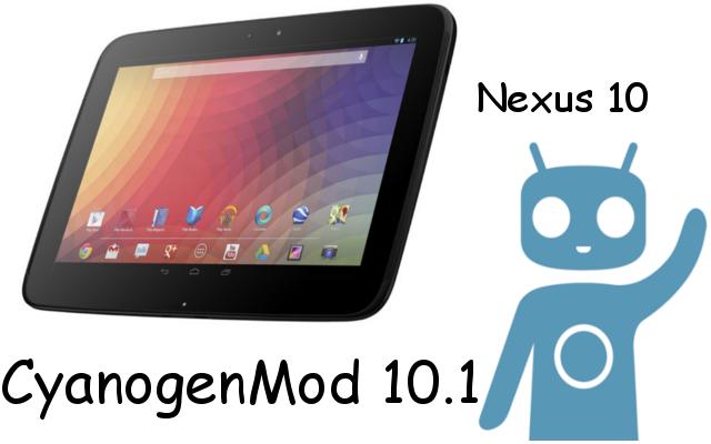 Nexus 10 Cm 10.1