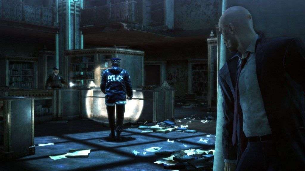 Hitman: Absolution Biblioteca