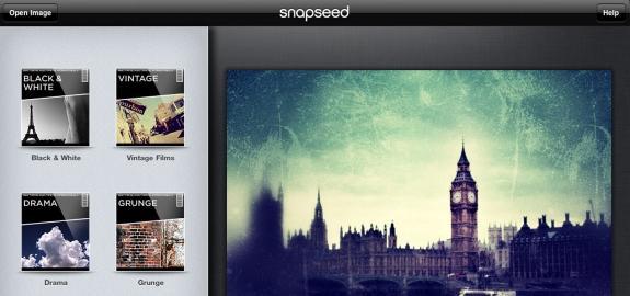 Snapseed esempio