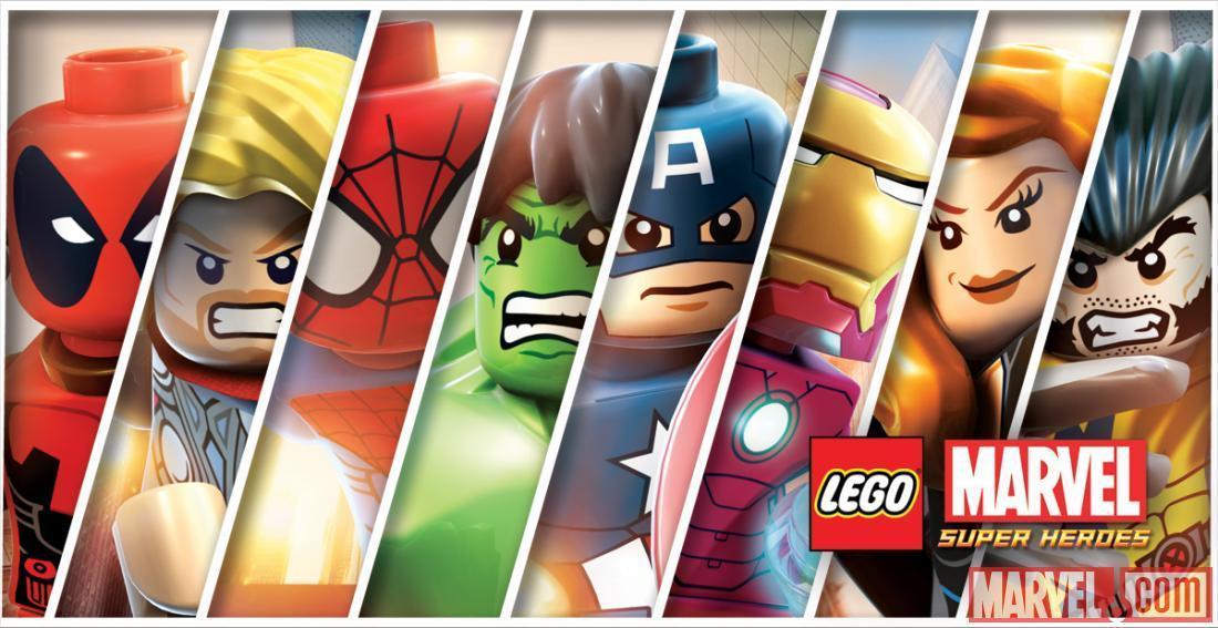 LEGO Marvel Super Heroes Protagonisti