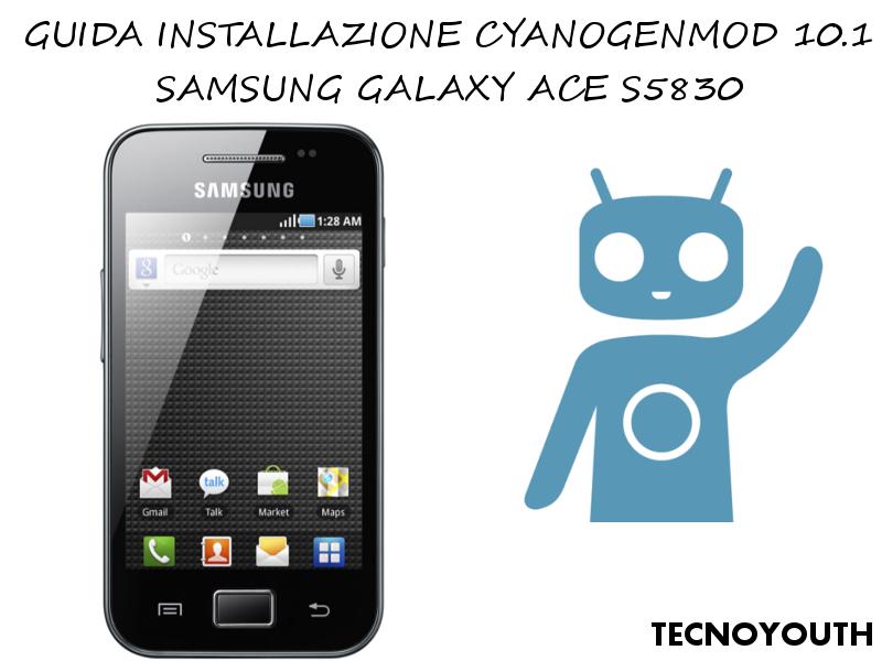 CyanogenMod 10.1 Galaxy Ace S5830