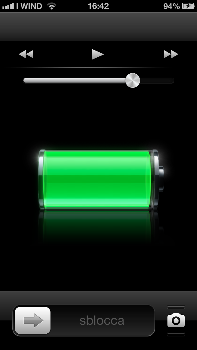 Lockscreen iOS 6.1