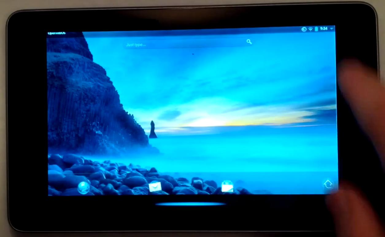 Nexus 7 WebOS