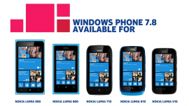 Nokia Windows Phone 7.8 update