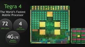 CES 2013 | Nvidia svela Tegra 4 processore quad core Cortex A15, GPU con 72 core e 4G/LTE