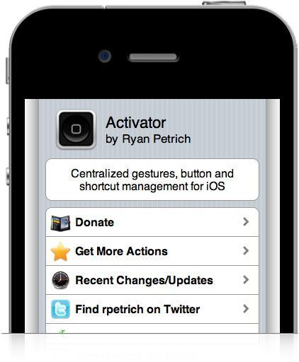 Activator Cydia