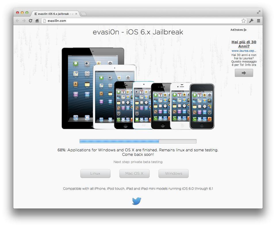 Evasion Jailbreak iOS 6