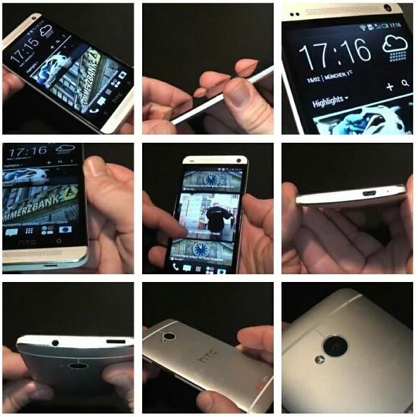 HTC One screen