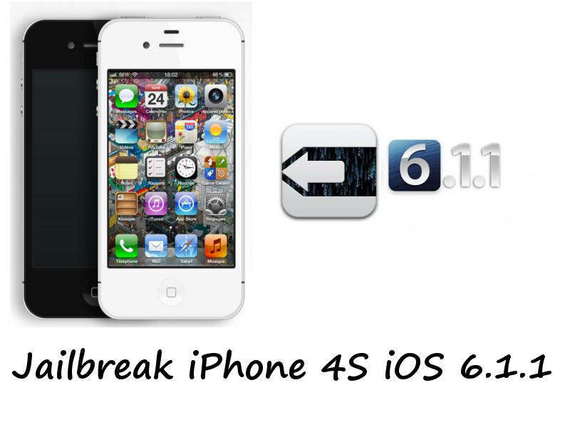 Jailbreak iPhone 4S iOS 6.1.1