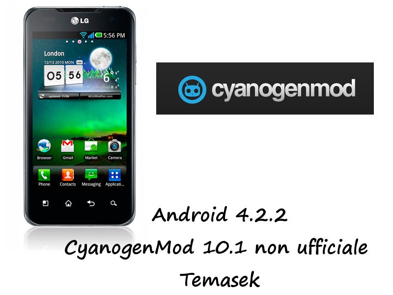 LG Dual CyanogenMod Temasek