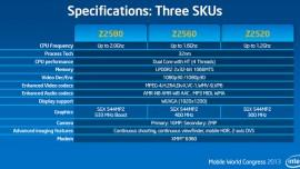 MWC 2013 | Intel presenta i nuovi processori Atom Dual Core